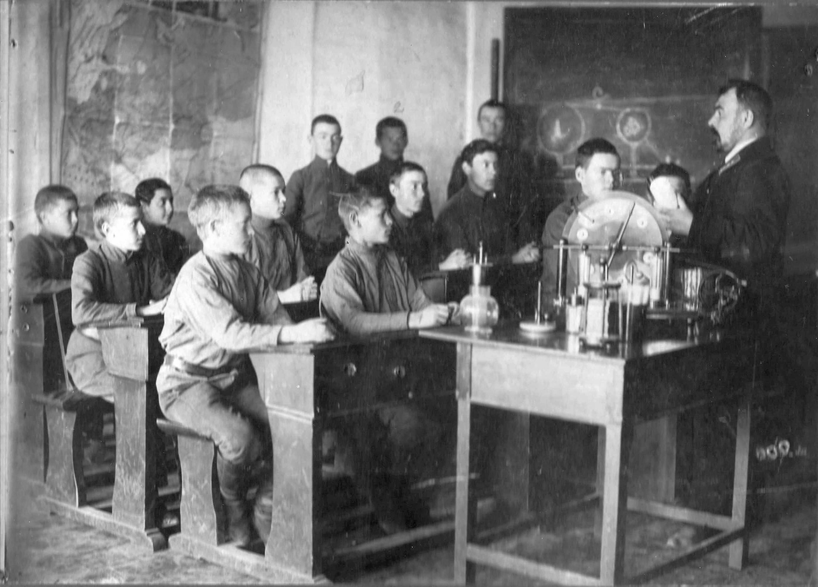1911. Курсы Тарского городского училища, 4 класс. 1 марта