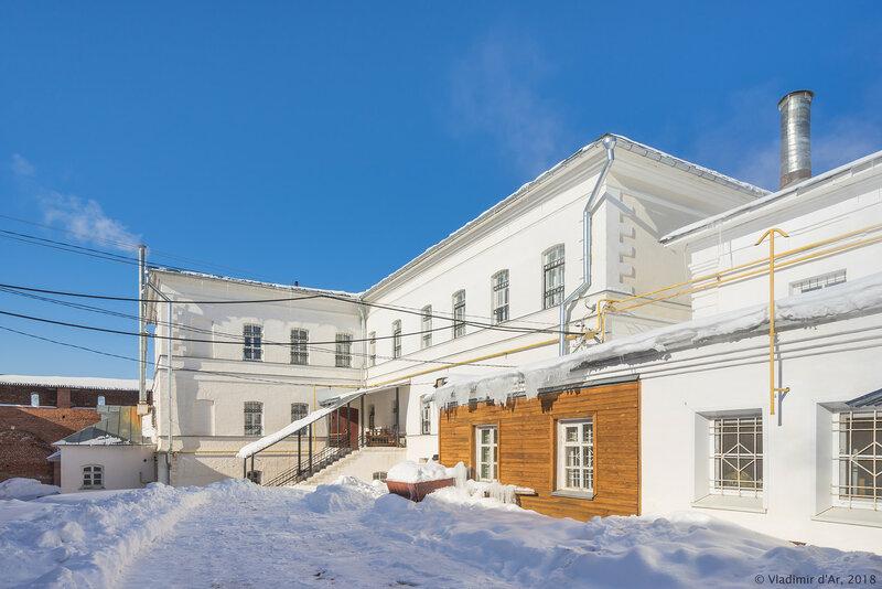 Основное здание. Музей. Зарайский кремль.