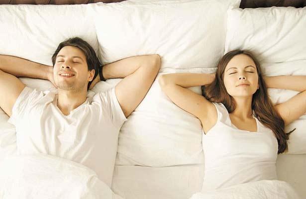 позы в которых спят пары