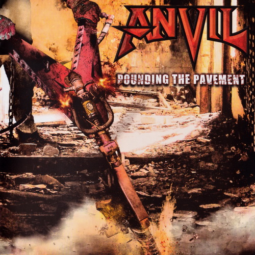 Anvil - 2018 - Pounding The Pavement [Steamhammer, SPV 285030 CD, Germany]