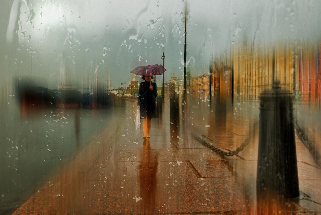 оставить в городе дождь открытки тому