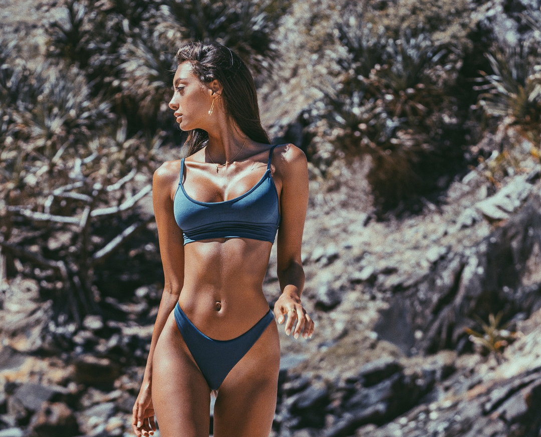 Jelena Markovic and Jordan Simek by Kesler Tran for Gooseberry Intimates Swimwear