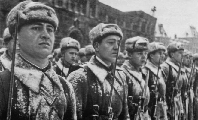 День проведения военного парада 1941 г
