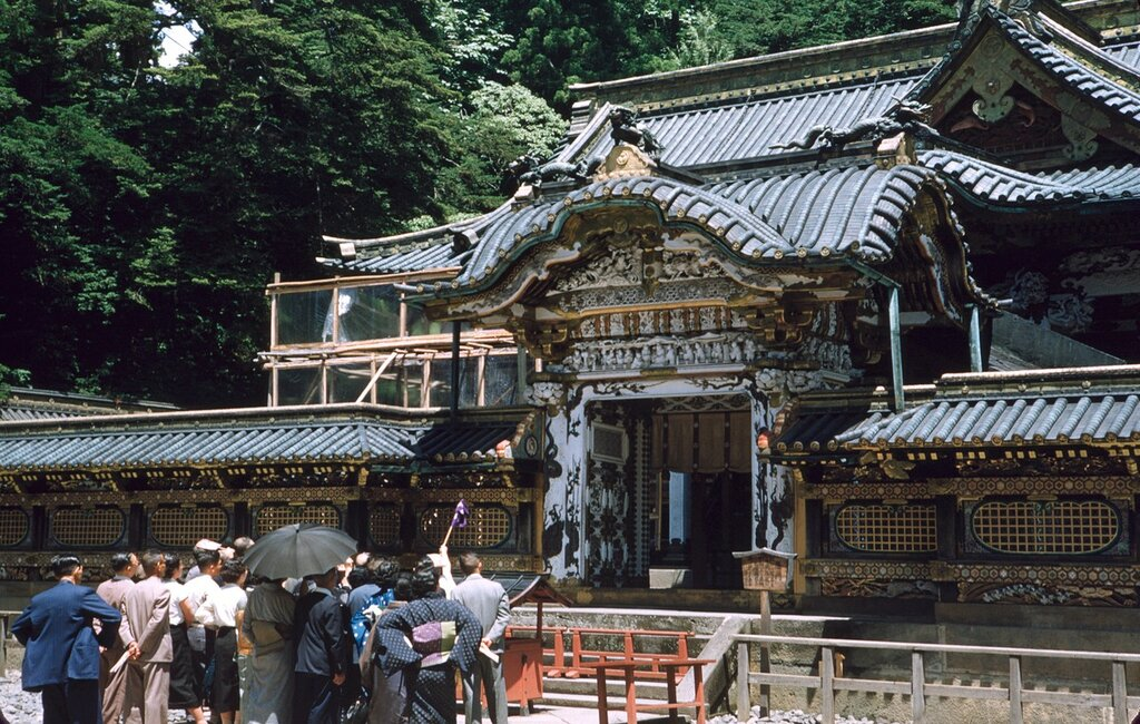 Nikko Toshogu Shrine.