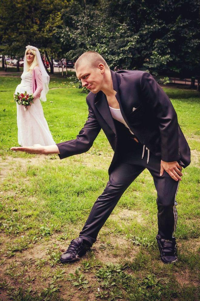 Быдлогоп-свадьба Ирины и Виталика (37 фото)