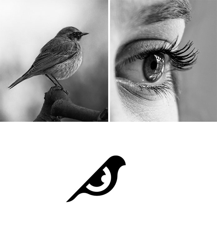 Сочетая несочетаемое: дизайнер из Индии создает логотипы из случайных изображений