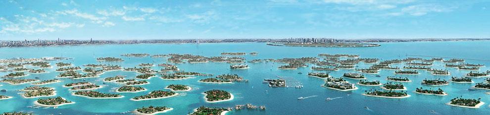 Цена одного острова достигает 38 миллионов долларов и меняется в зависимости от расположения, размер