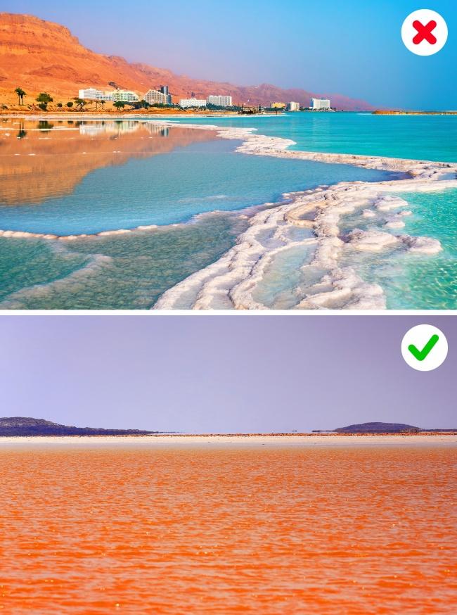 © depositphotos  © depositphotos     Верно сказать, что Мертвое море— самое солено