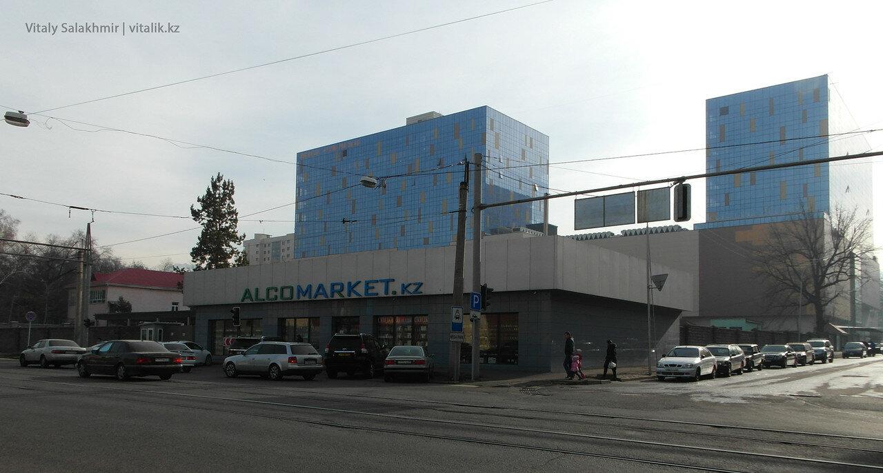Алкомаркет на Макатаева
