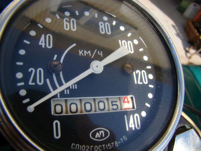 Урал М-67-36 1981го года с пробегом в 5 км