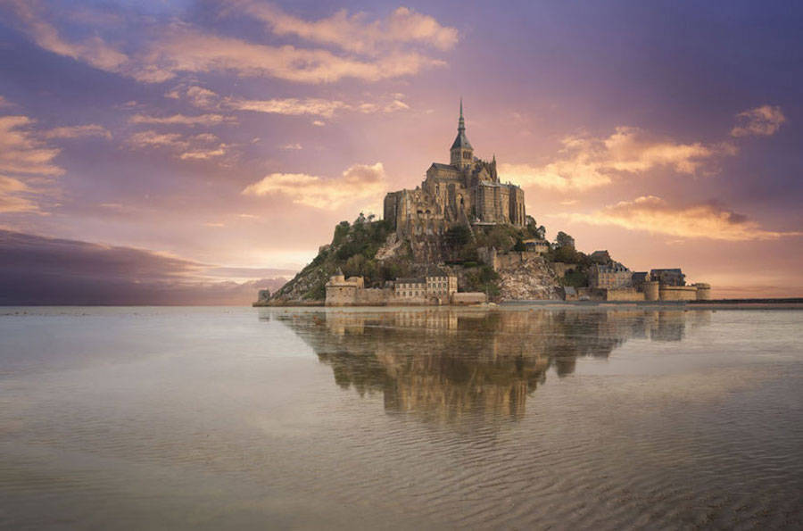 Tangled – Mont Saint-Michel, Normandy, France.