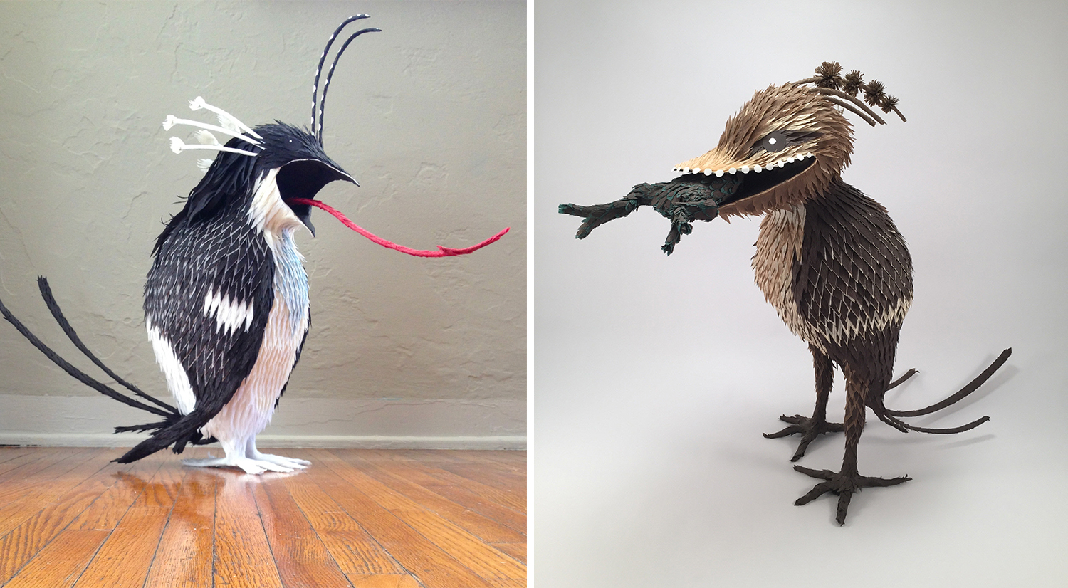 Figures From Hieronymus Bosch's Paintings Recreated as Sculptural Pinatas