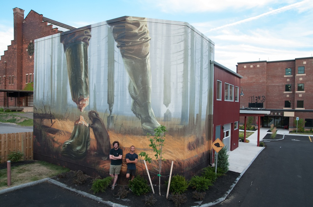 WALL/THERAPY 2015 Invites 14 Artists to Explore the Surreal in Rochester, NY