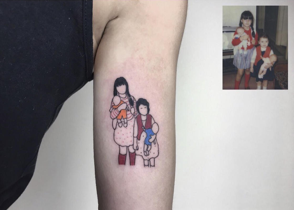Ink and Nostalgia – This artist transforms your childhood memories into tattoos
