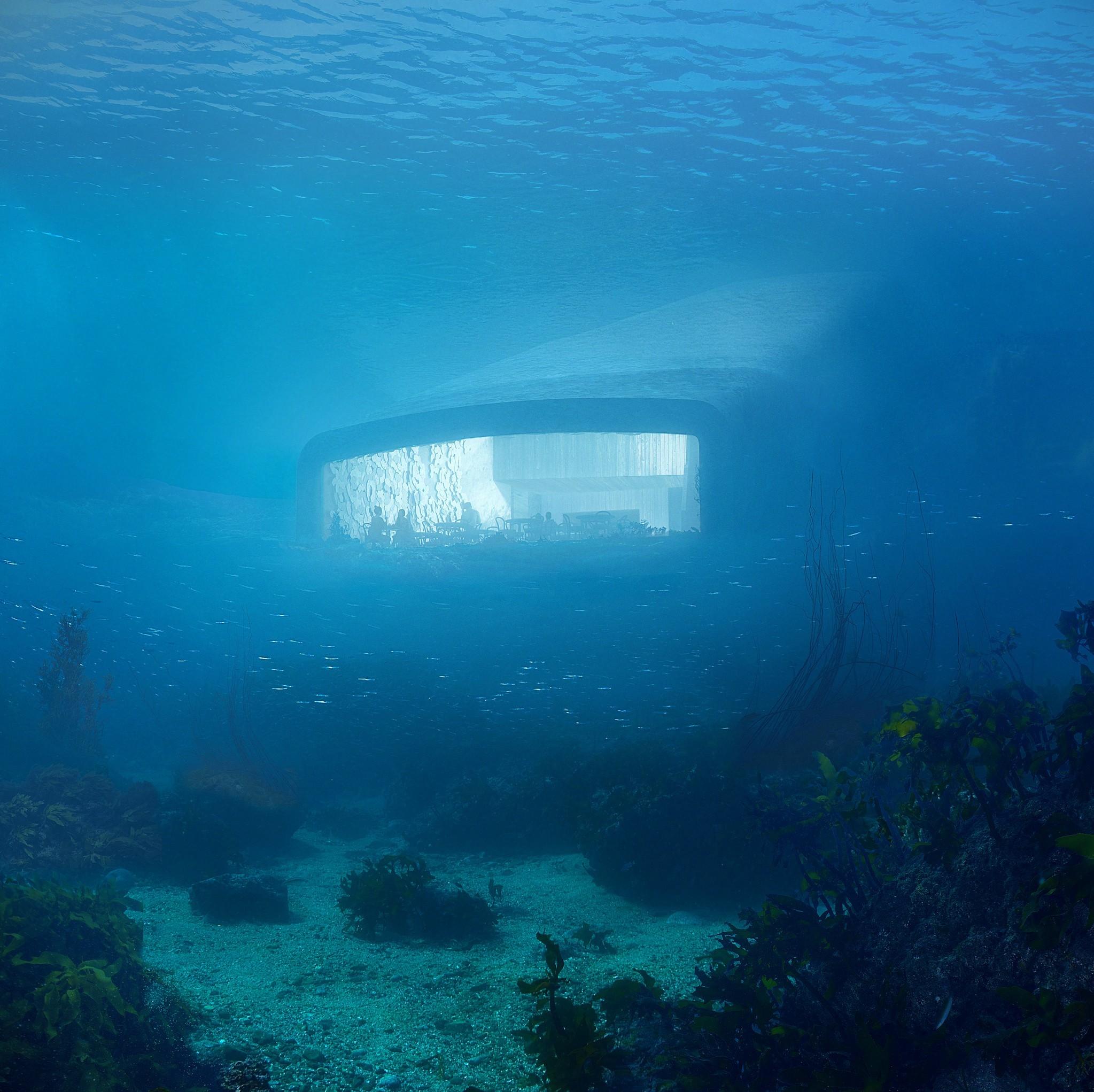 A Submarine Restaurant in Norway by Snohetta