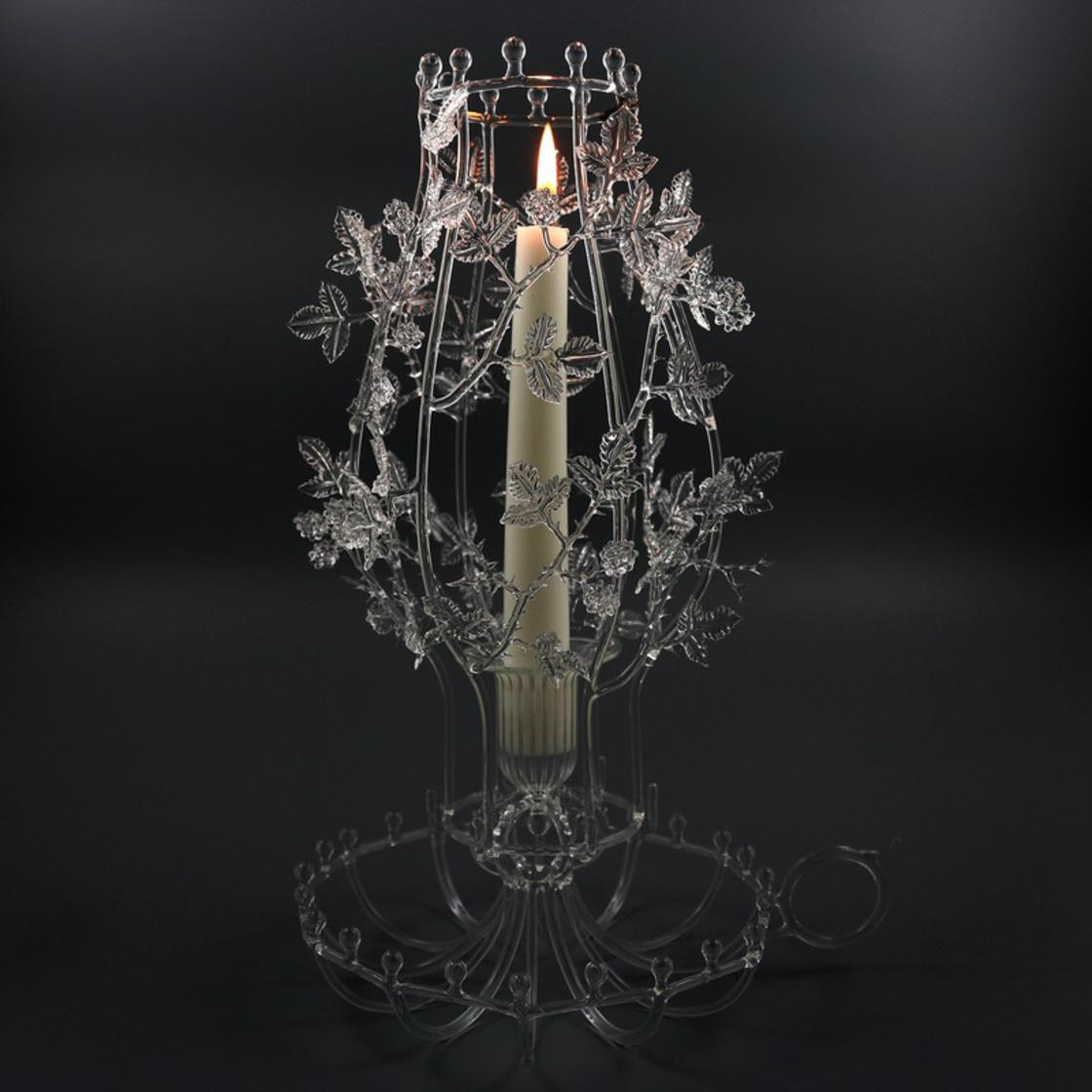Fragile and delicate, the impressive glass creations of Kit Paulson