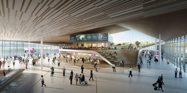 Georgia's Kutaisi International Airport Extension by UNStudio