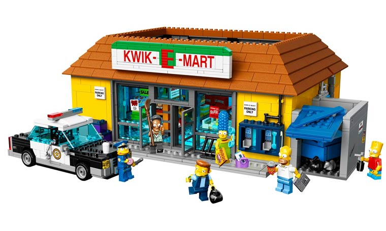 LEGO Simpson – The famous Kwik-E-Mart will be available soon!