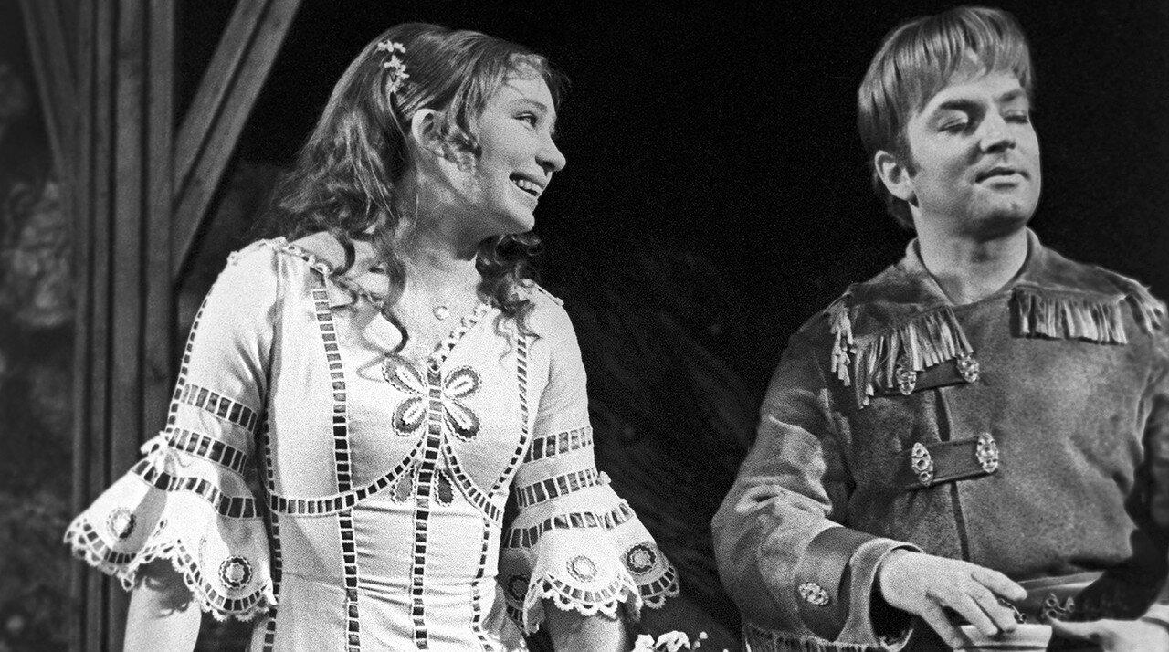 """Сцена из спектакля """"Обыкновенное чудо"""", 1971 год"""