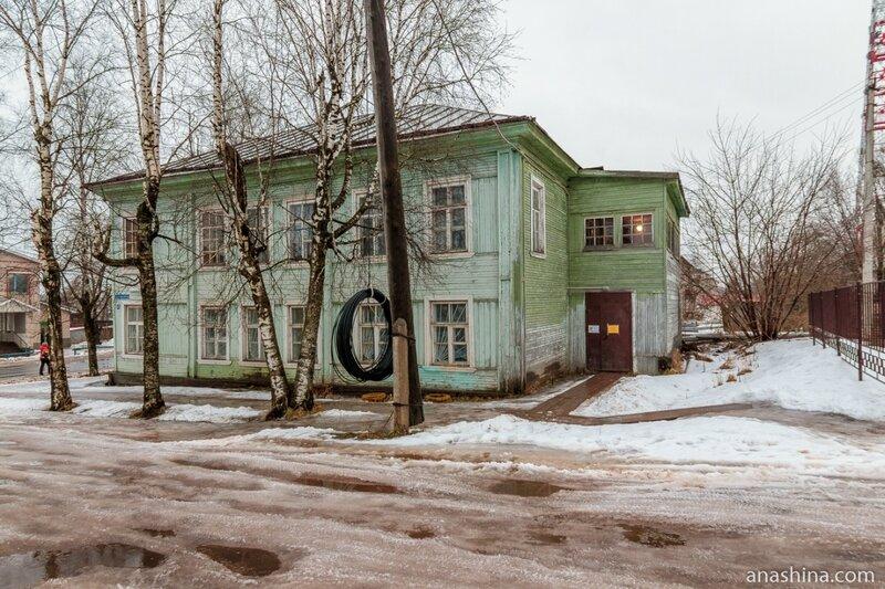 Дом-музей поэта Николая Клюева, Вытегра