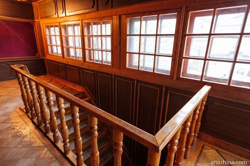 Лестница в доме Николая Клюева, Вытегра
