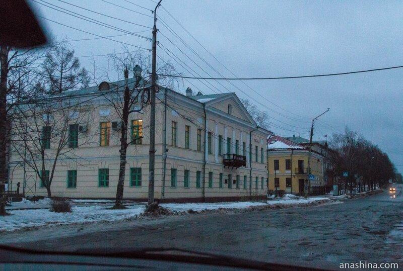 Январское утро в Вытегре