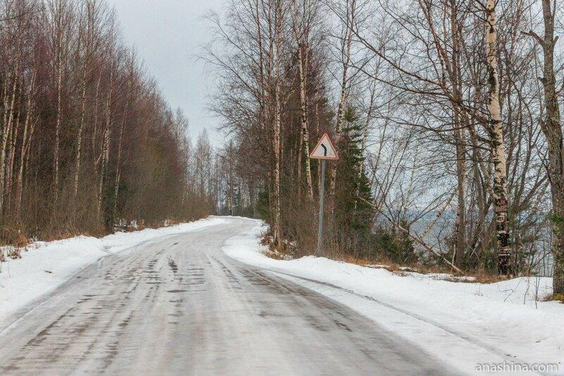 Дорога вдоль берега, Онежское озеро