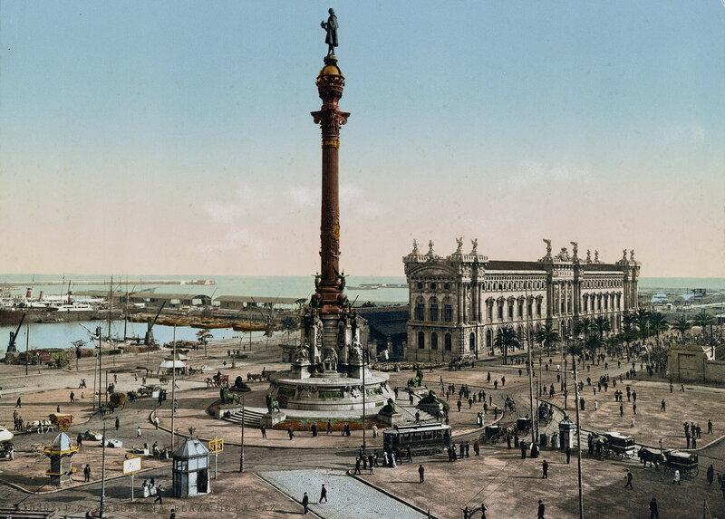 Площадь Врата мира в конце XIX века