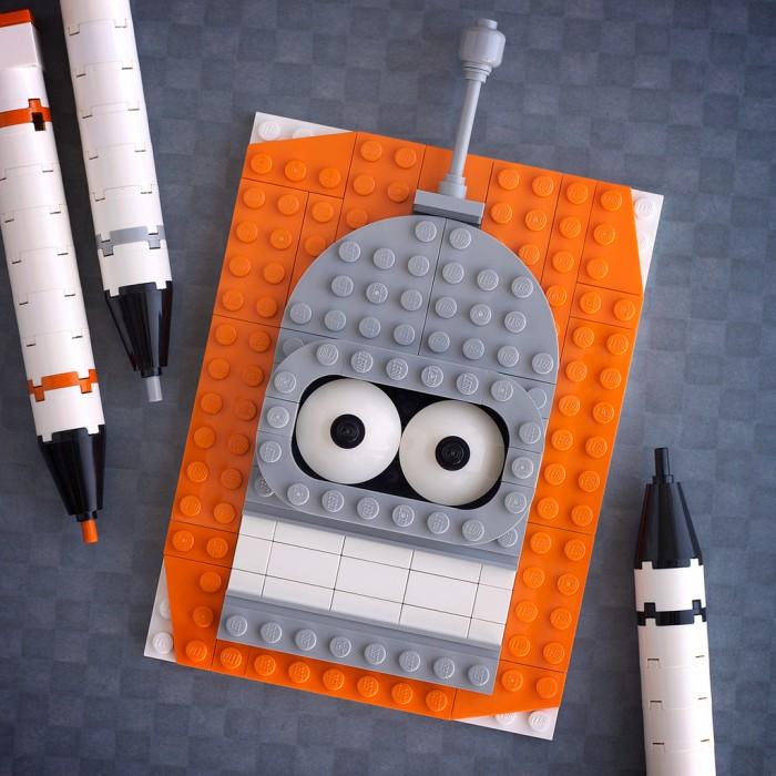 Lego Art - Chris McVeigh