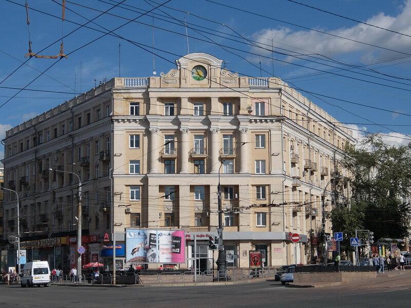 Челябинск - Здание на проспекте Ленина