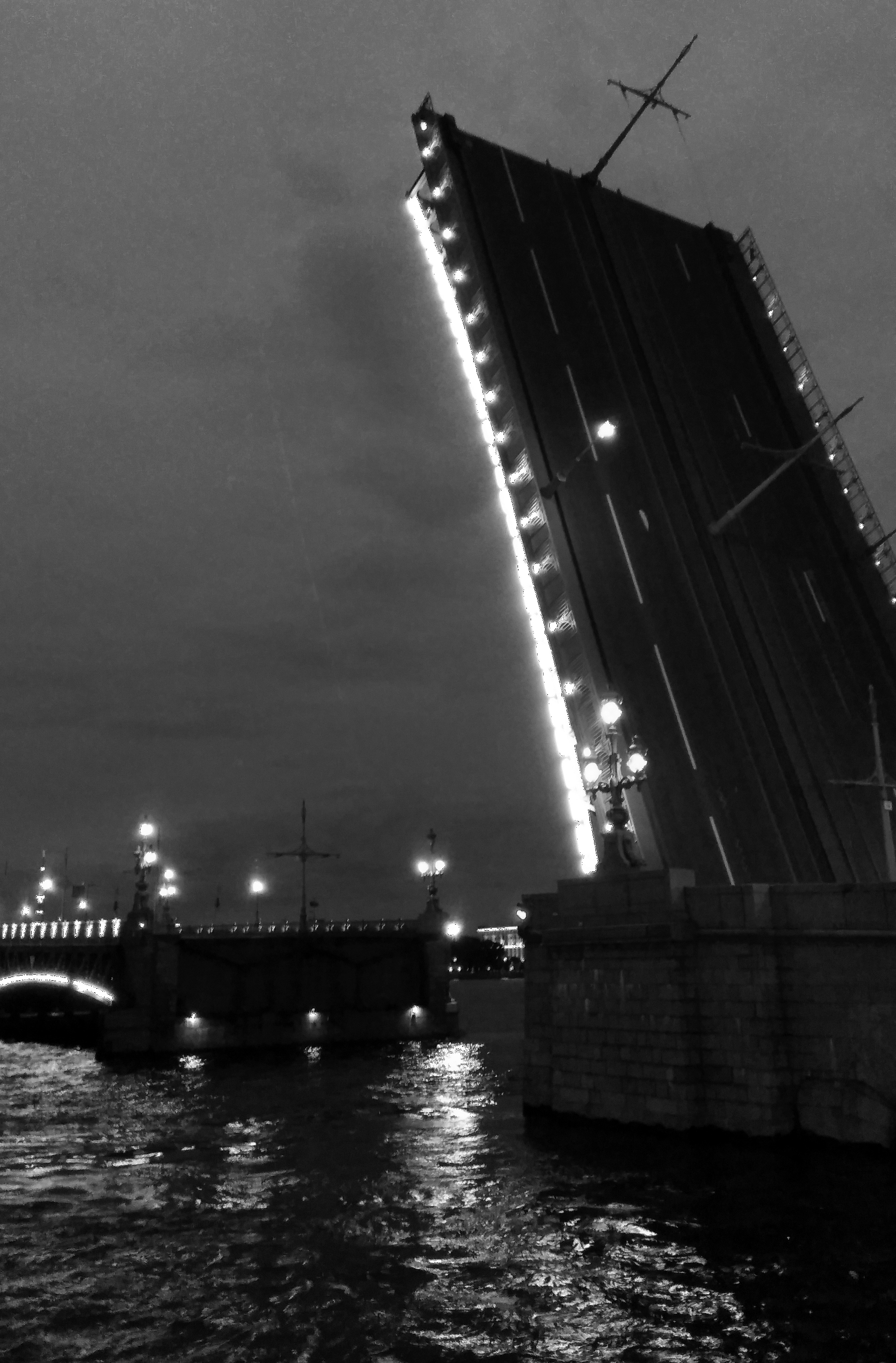 Troitsky Bridge, St. Petersburg