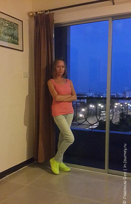балкон в номере Naris Art Hotel