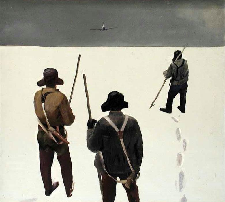Яковлев Андрей Зверобои (Белое море) 1962 Муз изобр иск Респ Карелия.jpg