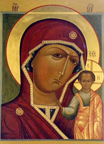 Икона Богородицы Казанская (Пензенская)