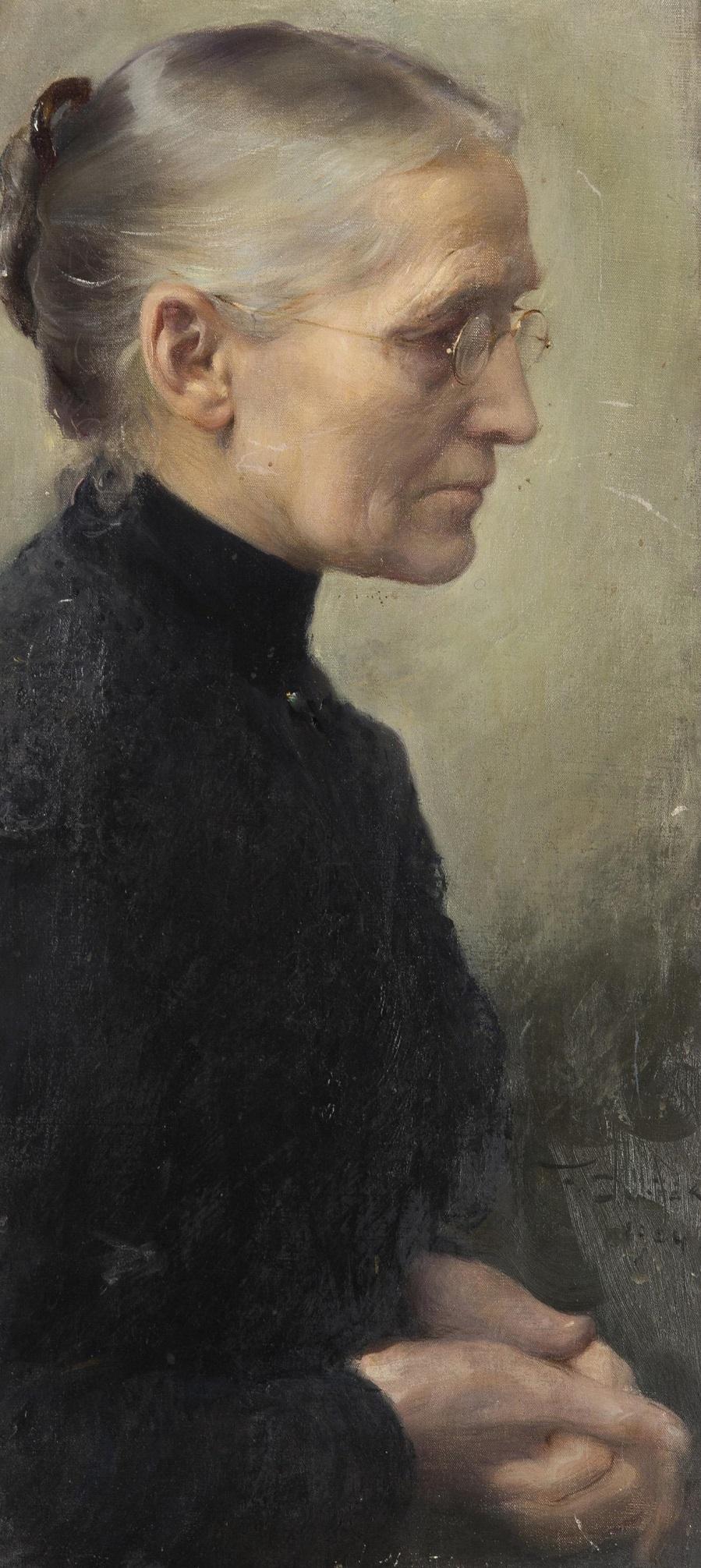 Portrait of the Artist's Mother , 1904. Портрет матери художника