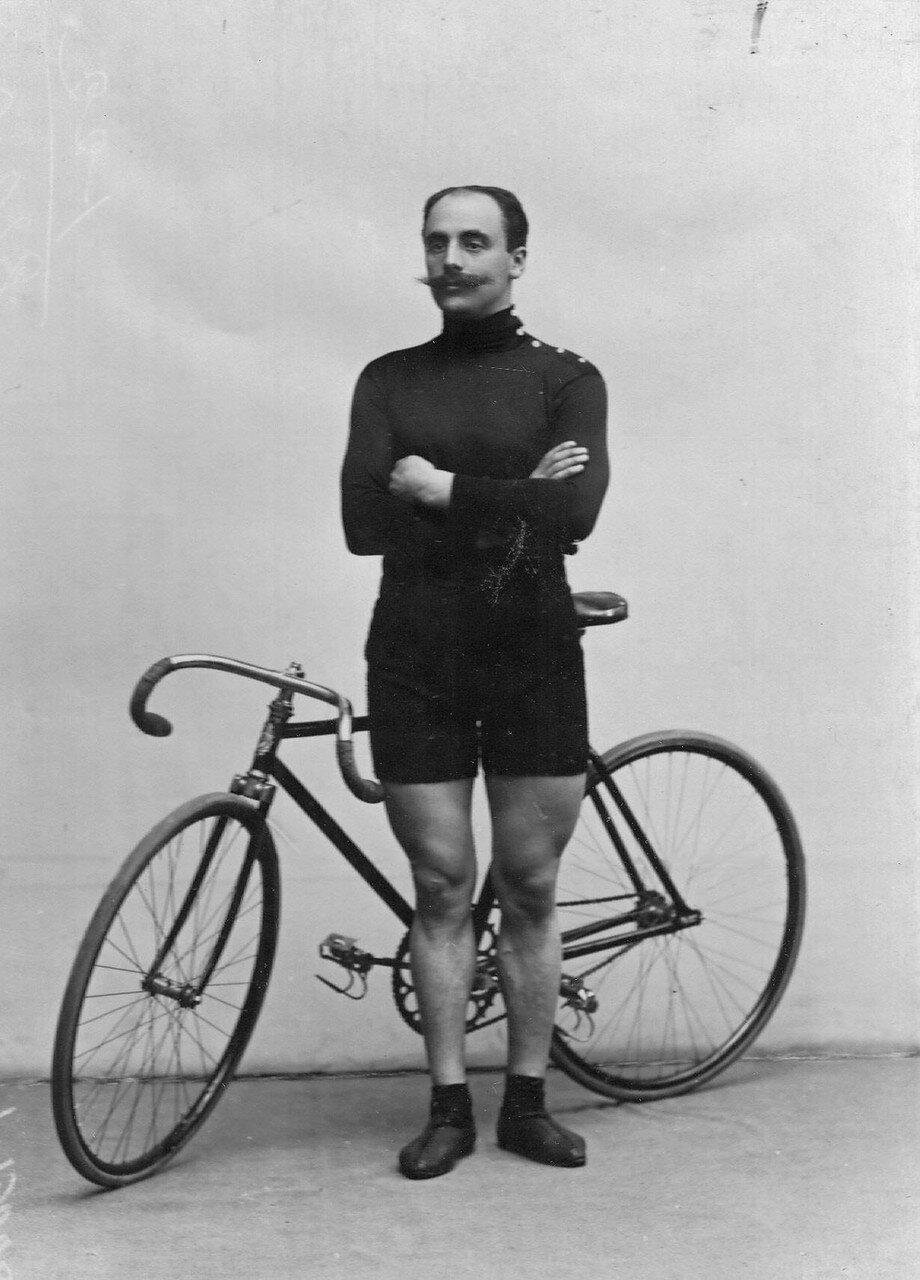Велогонщик Куделя (от Германии)
