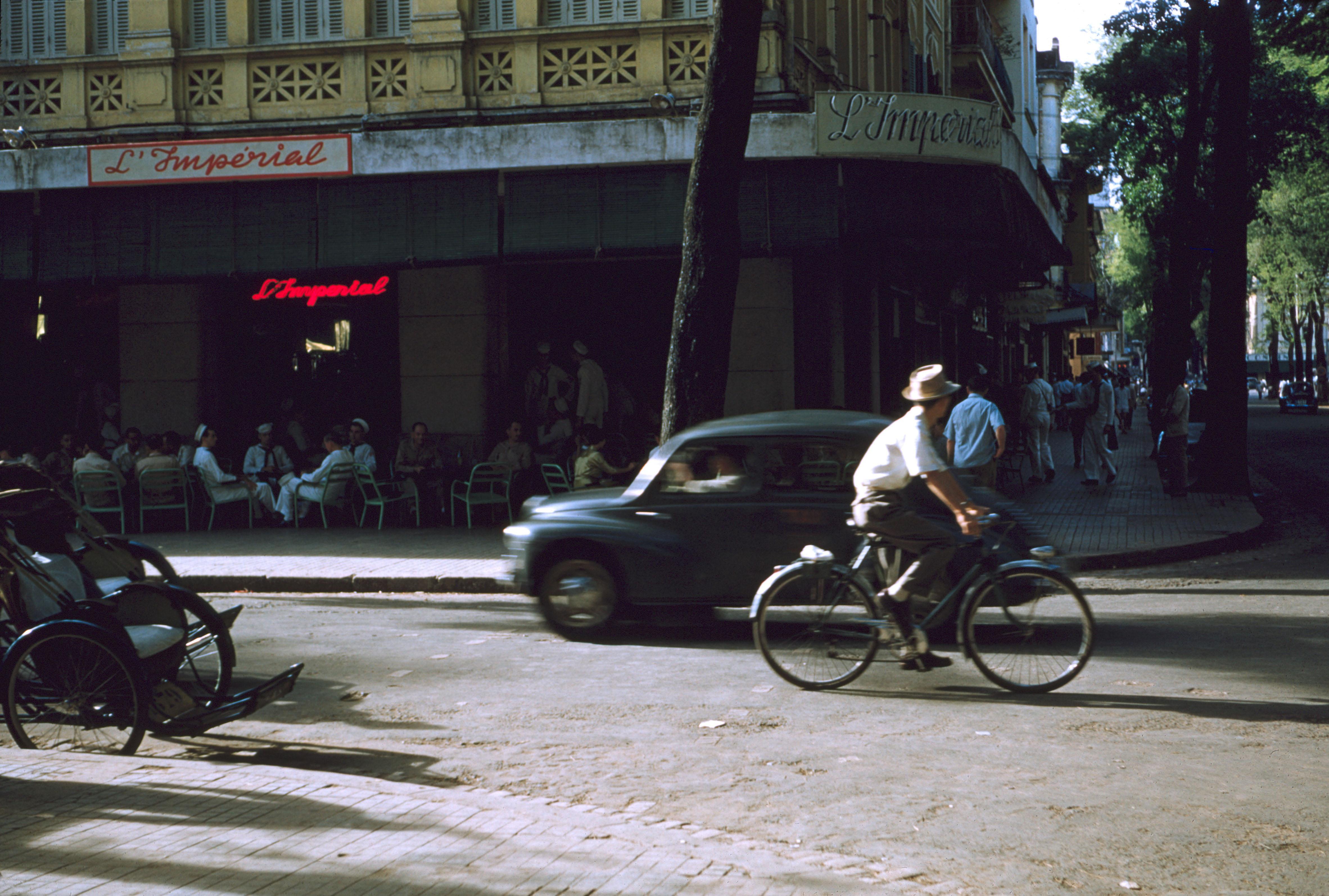Угол улицы д'Ормай и Катина