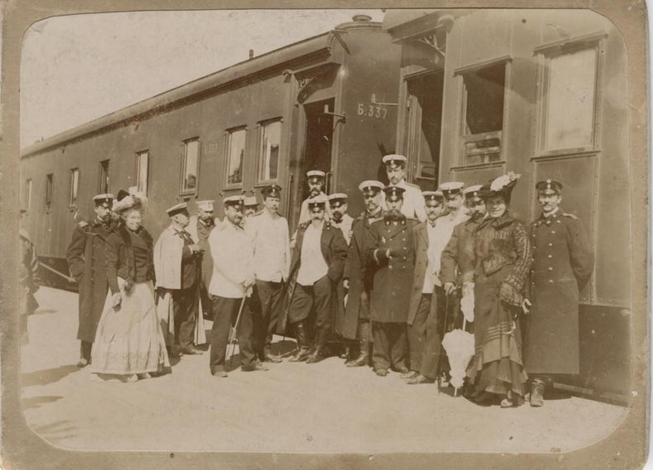 Служащие железной дороги