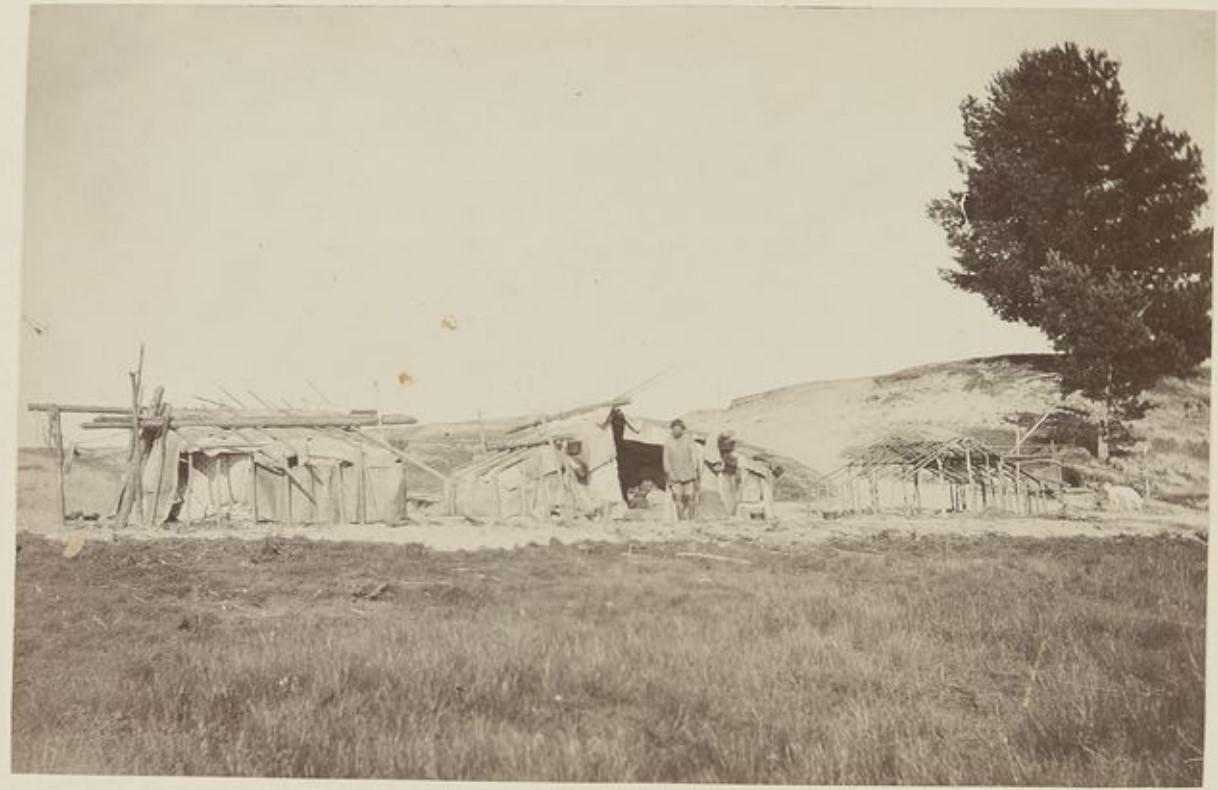 Крытые летние домики на Васюгане