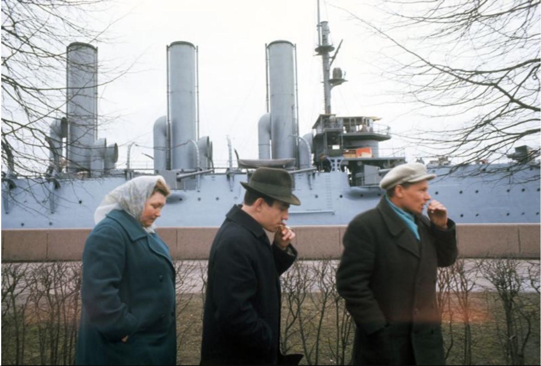 У крейсера Аврора