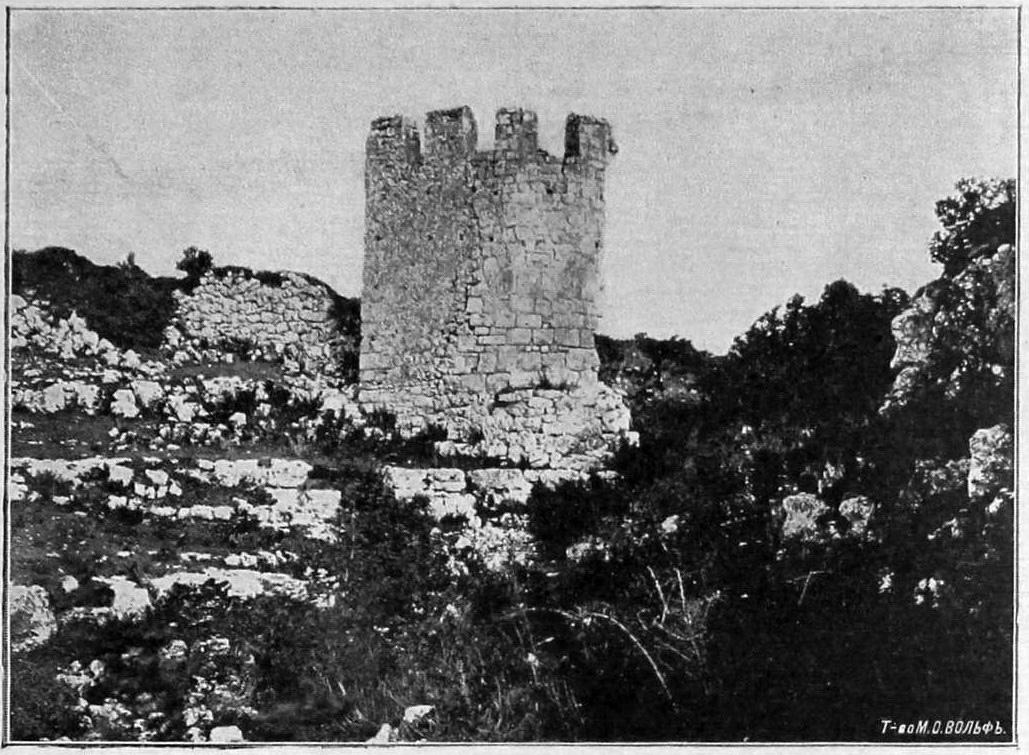 Башня в верховьях балки Табана-дере