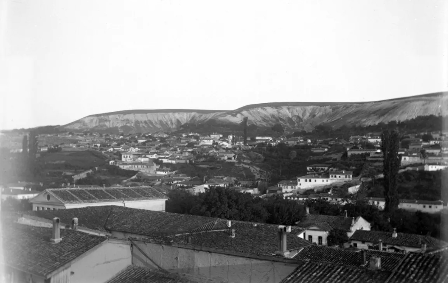 Панорама города (фрагмент)