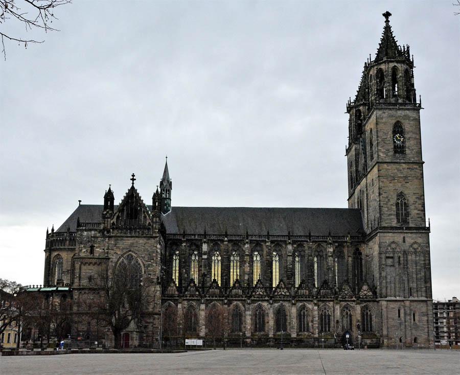 Магдебургский собор, 1207—1520 гг.