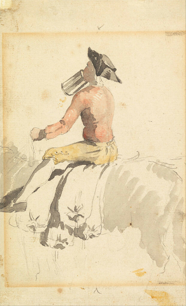 621px-Samuel_Scott_-_A_Groom_on_Horseback,_Drinking_-_Google_Art_Project.jpg