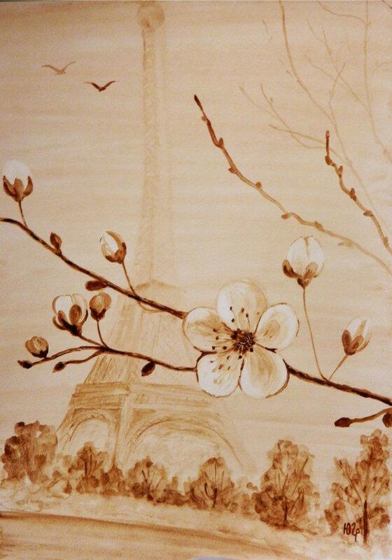 кофейный-рисунок-весна-в-париже.jpg