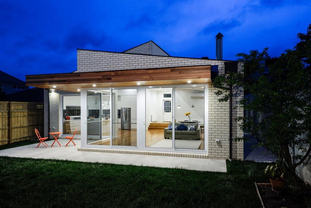 Модернизация и расширение старого дома в Мельбурне