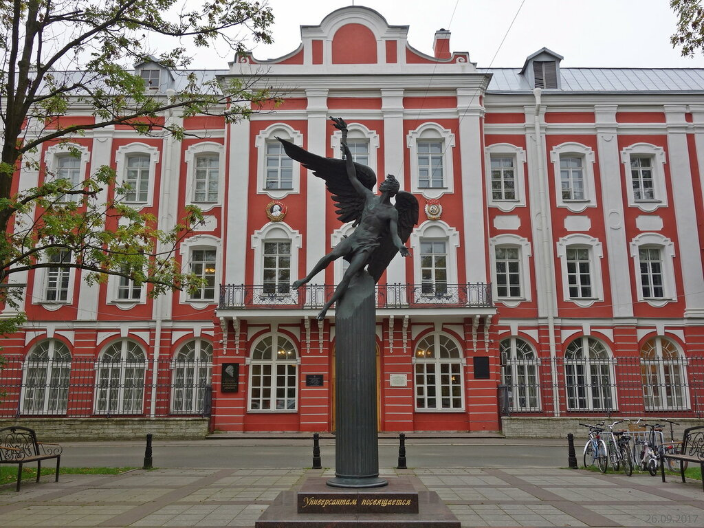 санкт-петербургский университет картинки дворжецкая востребована кино