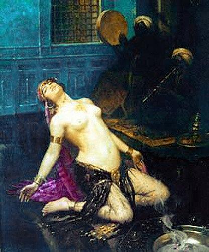 Gaston Guedy (1874 – 1955, French) Harem Dancer