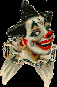 винтажные клоуны