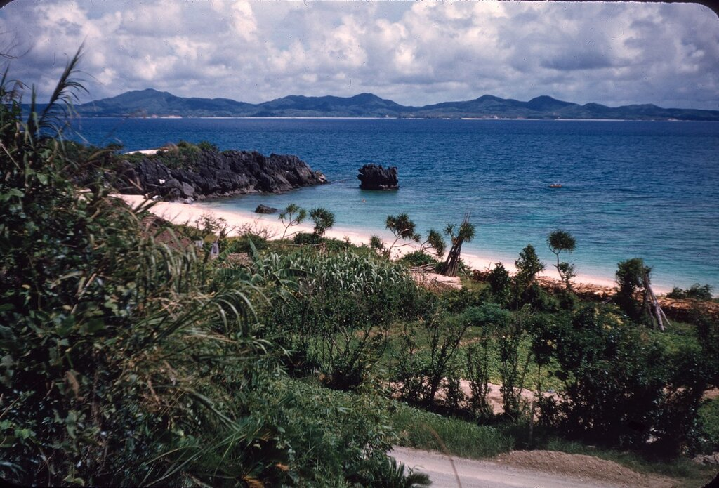 Motobu Peninsula, Okinawa July 1955.
